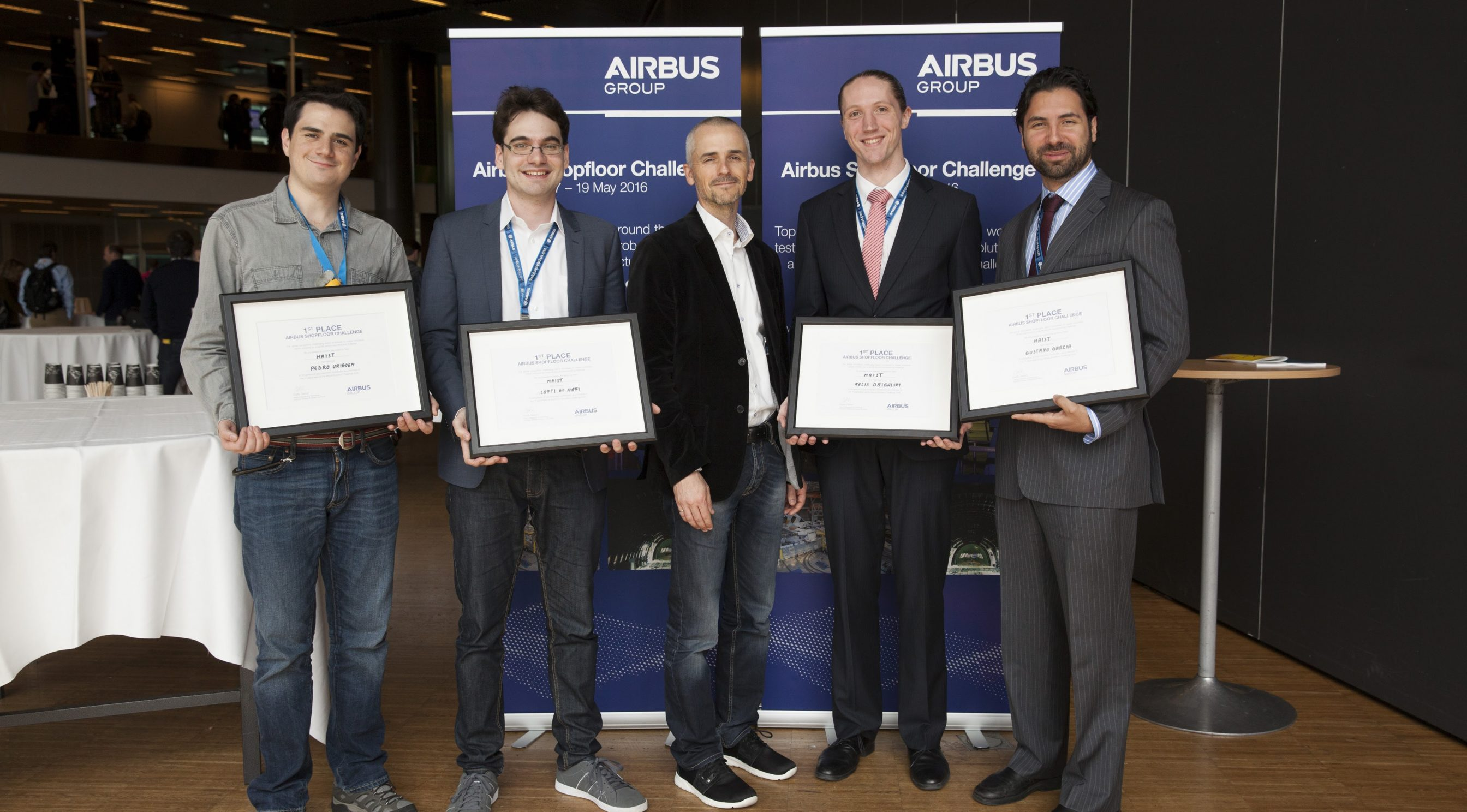 Airbus Shopfloor Challenge: チームNAISTが優勝