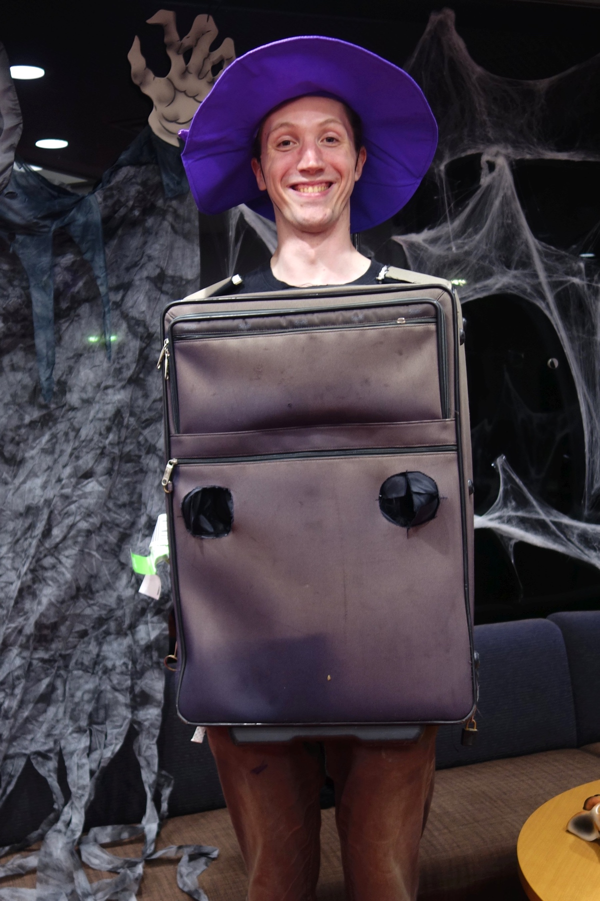2nd Place: Suitcase Sorceror Felix.