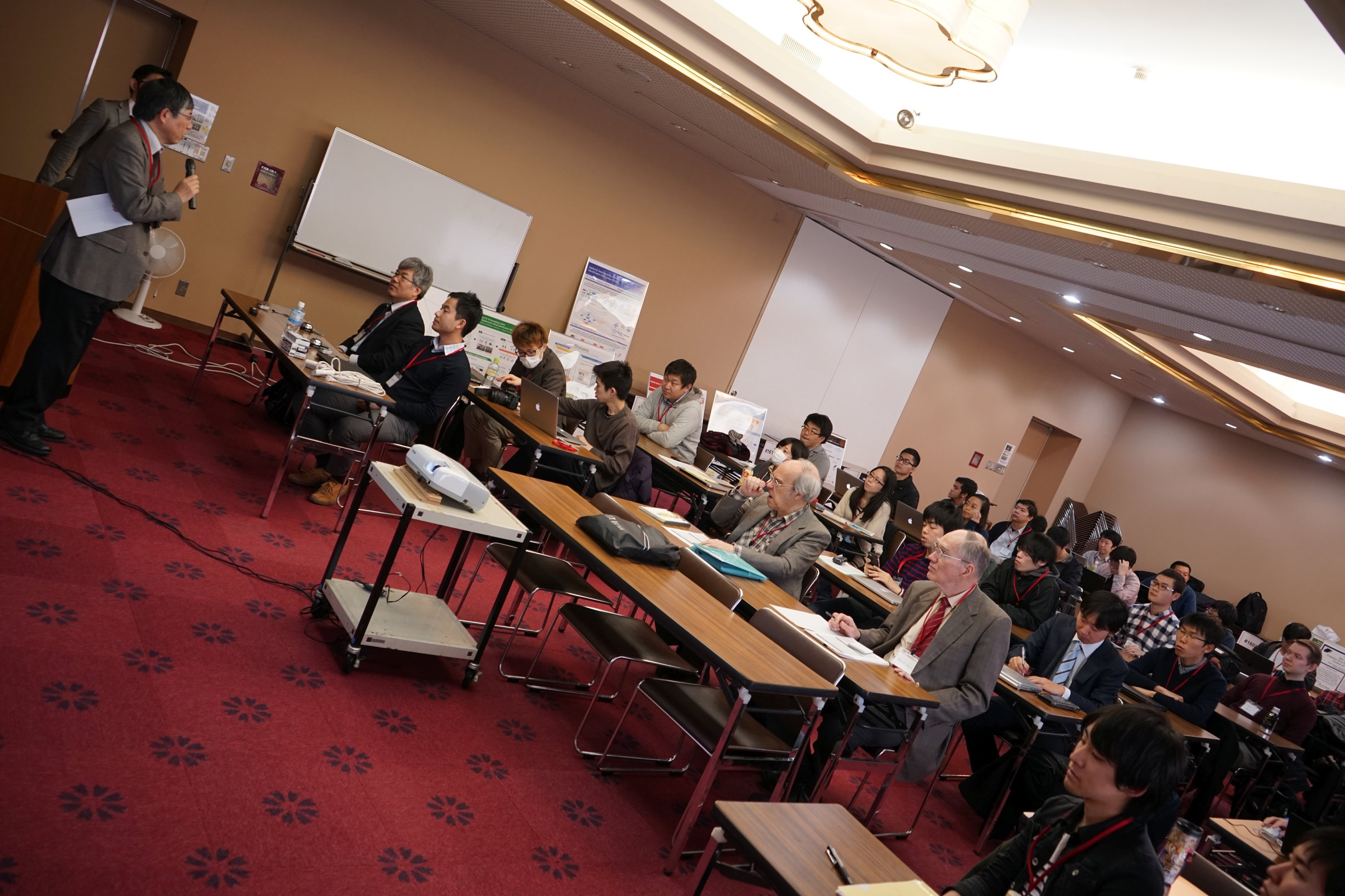 The conference room at the Boscovilla in Nara.