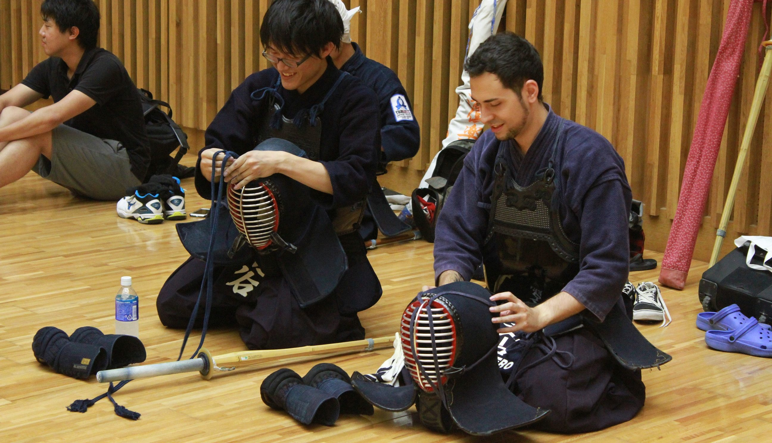 NAIST Kendo Club: Tradition surrounded by technology