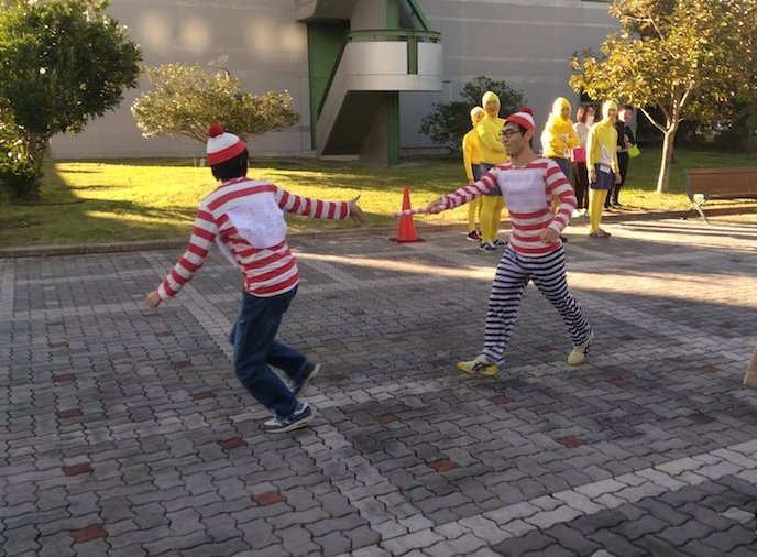 Running in a fancy dress: the 23rd Yoshikawa cup (Ekiden)